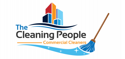 The Cleaning People Sticky Logo Retina